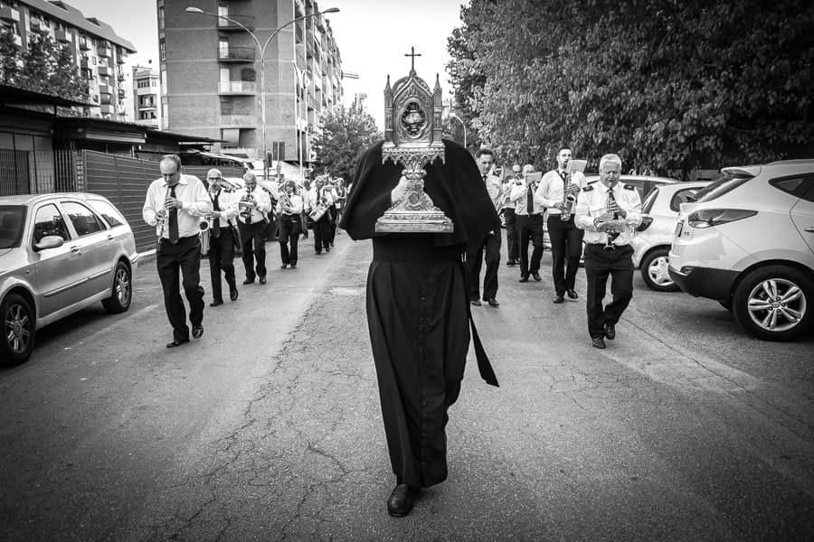 Garbatella La processione
